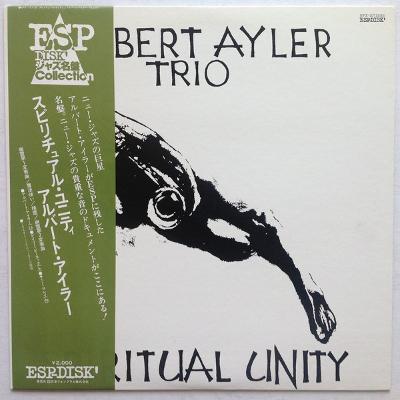 ALBERT AYLER TRIO spiritual unity
